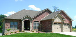 Patio Homes at Far Oaks - Caseyville IL new homes with lake view
